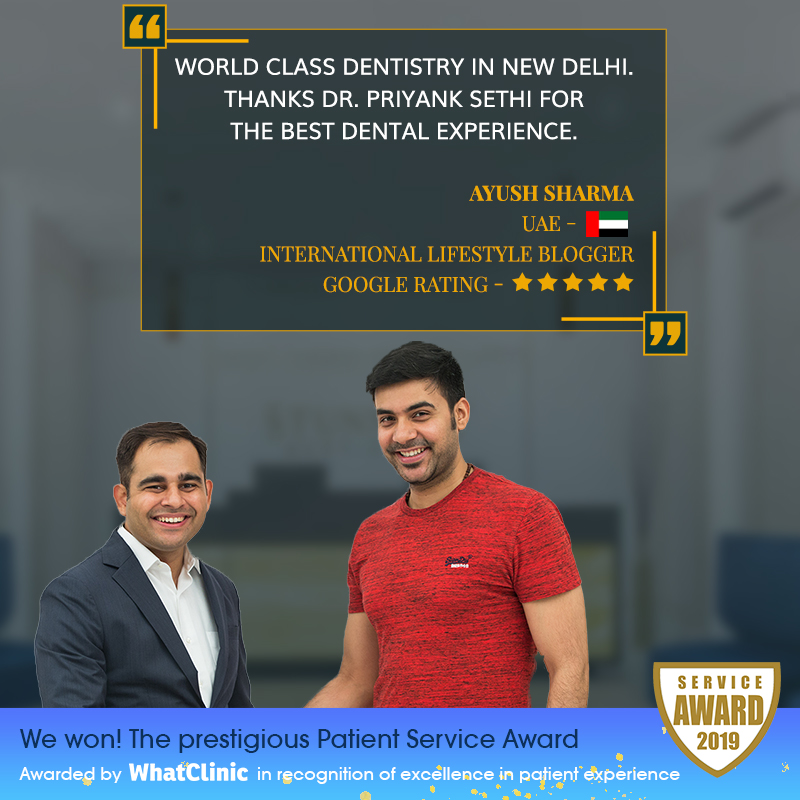 experience dental treatment clinic delhi