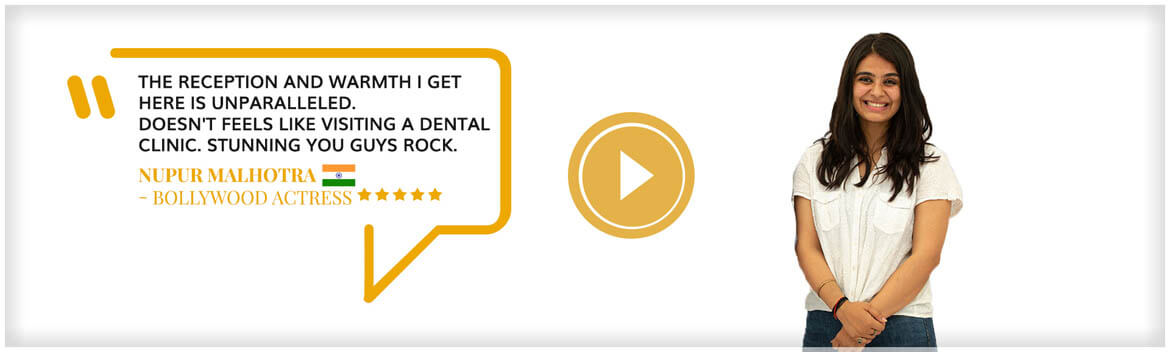 Ms. Nupur dental treatment feedback - best dental clinic in delhi near me